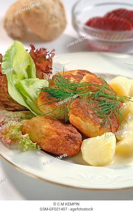 Russian fish fillets frikadelas