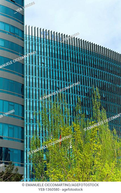 Office buildings, 2010, Chaoyang District, Beijing, China, Asia