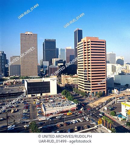 Eine Reise nach Los Angeles, 1980er Jahre. A trip to Los Angeles, 1980s