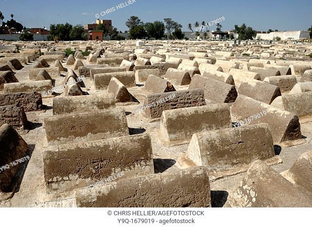 Jewish Cemetery Mellah Marrakesh Morocco