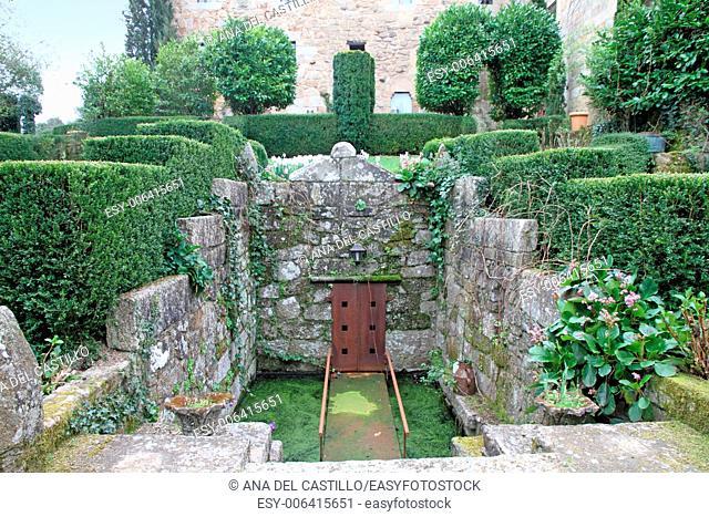 Pazo de Betrances palace in Ourense Galicia Spain