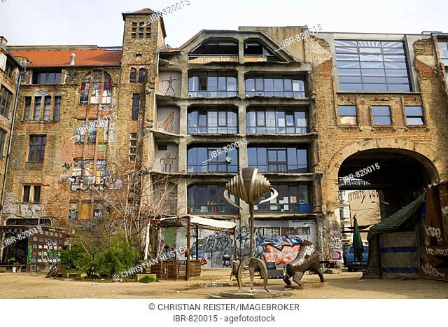 Kunsthaus Tacheles, house for art, Oranienburger Road, Berlin-Mitte, Germany, Europe