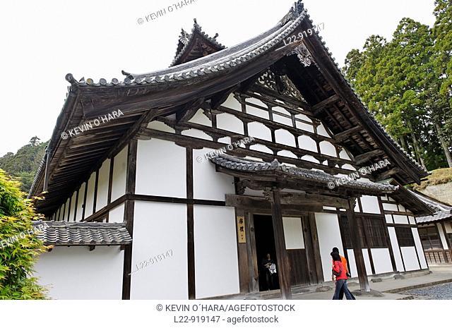 Zuigan-ji temple founded in 828 later became a center of the Rinzai sect Myoshinji school, Matsushima, Tohoku province, Honshu island, Japan