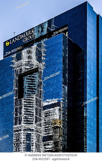 Landmark Group building at Dubai Marina, Dubai, UAE