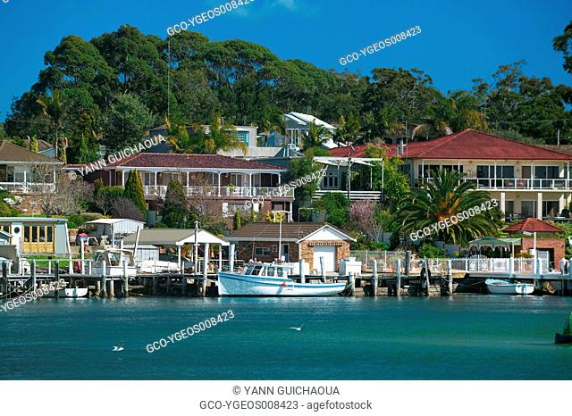 HUSKISSON IN JERVIS BAY - NEW SOUTH WALES - AUSTRALIA