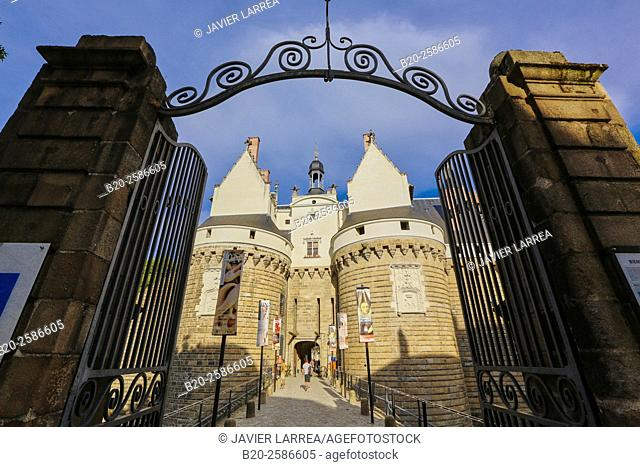 Chateau des Ducs de Bretagne, Nantes, Pays de la Loire, France