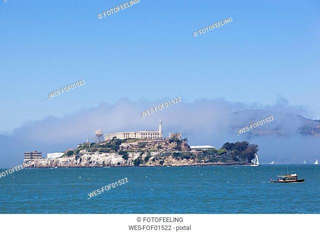 USA, California, San Francisco, Alcatraz island