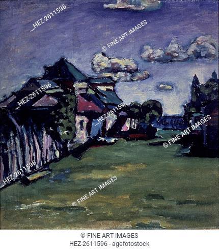 Near Moscow. Artist: Kandinsky, Wassily Vasilyevich (1866-1944)