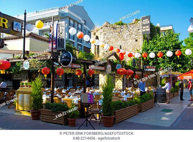 Planet Yucca restaurant, Kusadasi, Turkey, Asia Minor