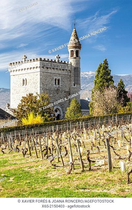 Castle of Chignin, Savoie, France