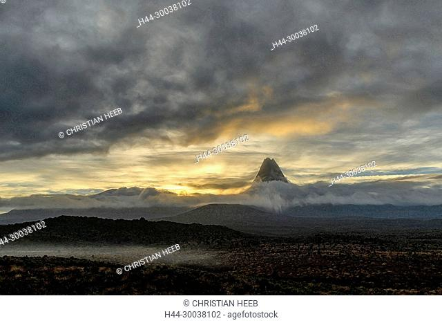 Oceania, New Zealand, Aotearoa, North Island, Tongariro , National Park