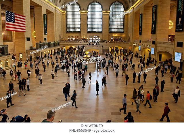 Grand Central Terminal, Midtown Manhattan, New York, USA