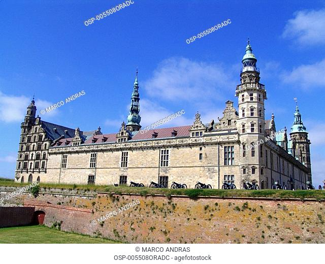 a beautiful castle building from denmark