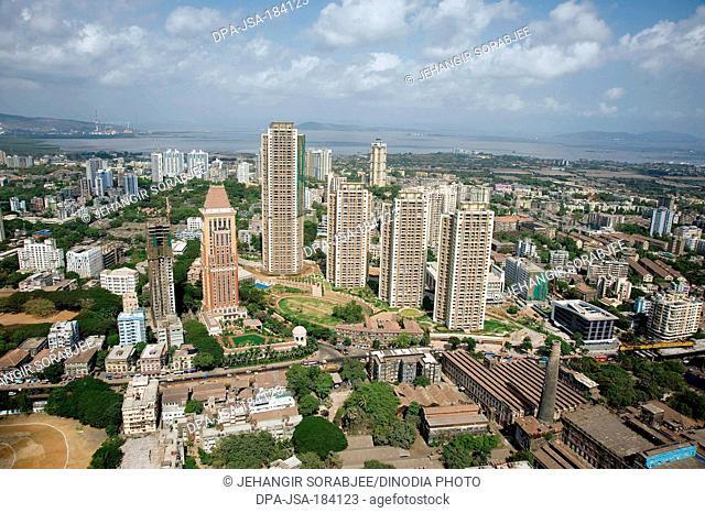 aerial view of ITC hotel at parel mumbai maharashtra India