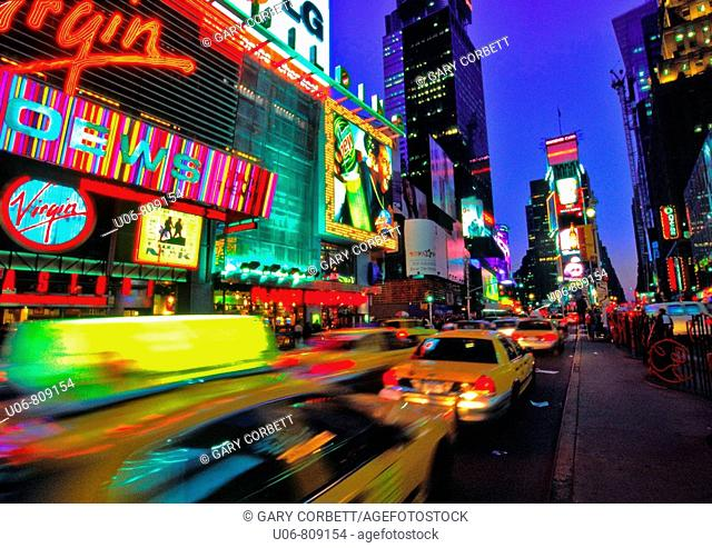 Times Square. New York City. USA