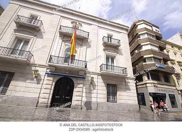 Cityscape in Cartagena Murcia Spain