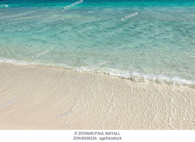 Southern Ocean beach shoreline, Esperance Western Australia