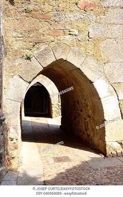 arch Miranda del Castanar; Sierra de Francia Nature Reserve; Salamanca province; Castilla Leon; Spain
