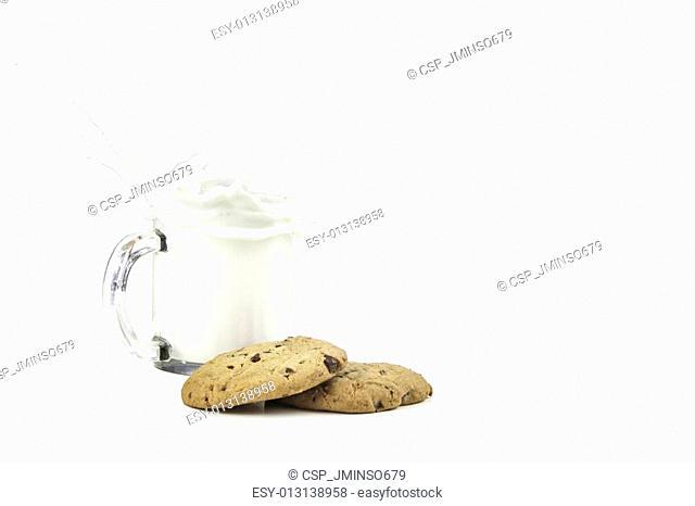 Milk and Cookie Splash