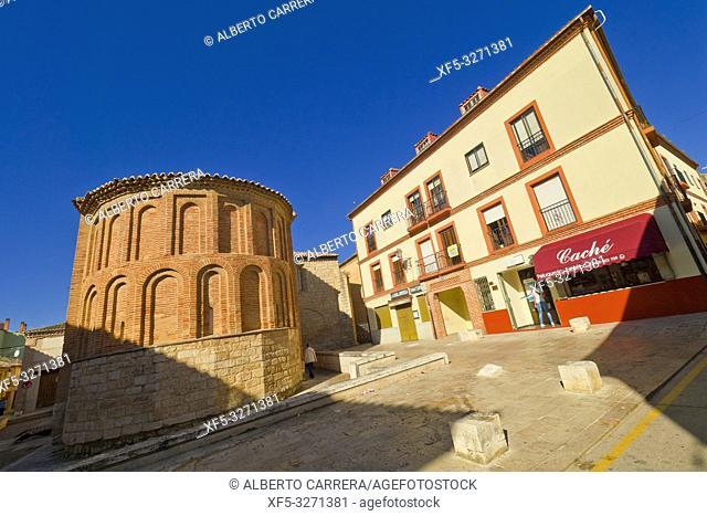 San Lorenzo el Real Curch, Mudejar-Romanesque Style, Old Town, Toro, Zamora, Castilla y León, Spain, Europe