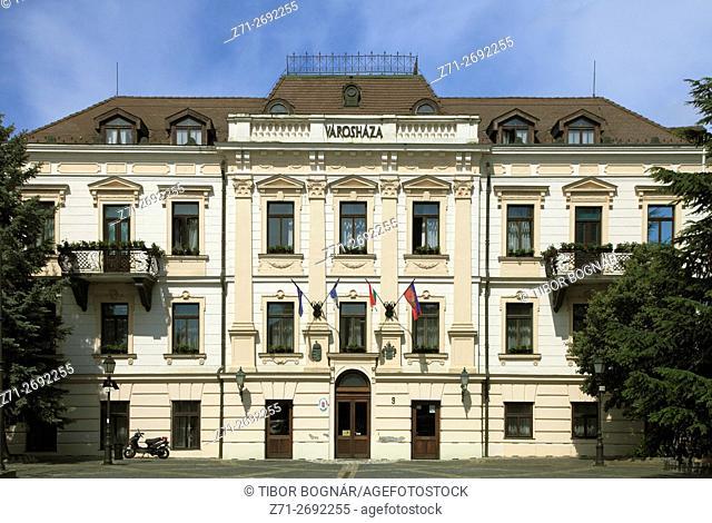 Hungary, Veszprém, Town Hall,