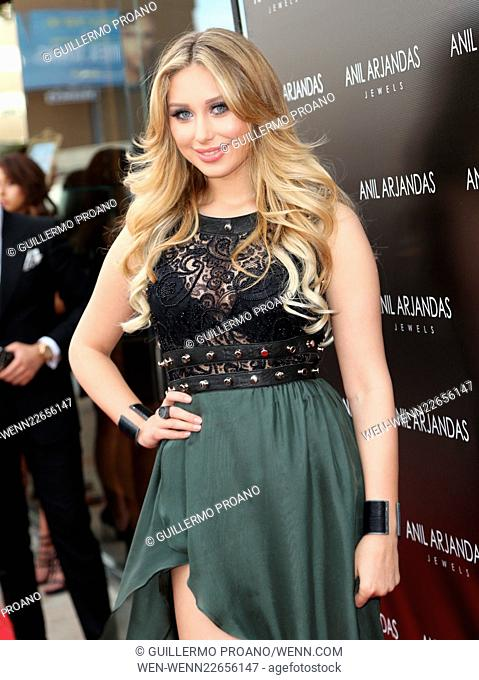 46be3e791 Grand Opening of Anil Arjandas Jewels Los Angeles Boutique - Arrivals  Featuring  Ella Mois Where