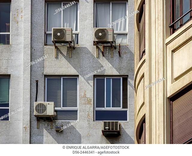 Buildings, Valencia, Spain