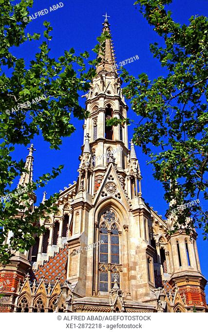 Church of Sant Francesc de Sales, Barcelona, Catalonia, Spain