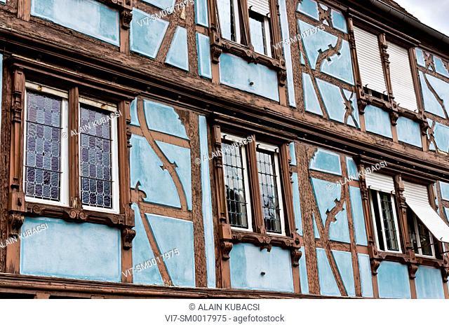 Half-timbered house, Colmar, Haut-Rhin, France