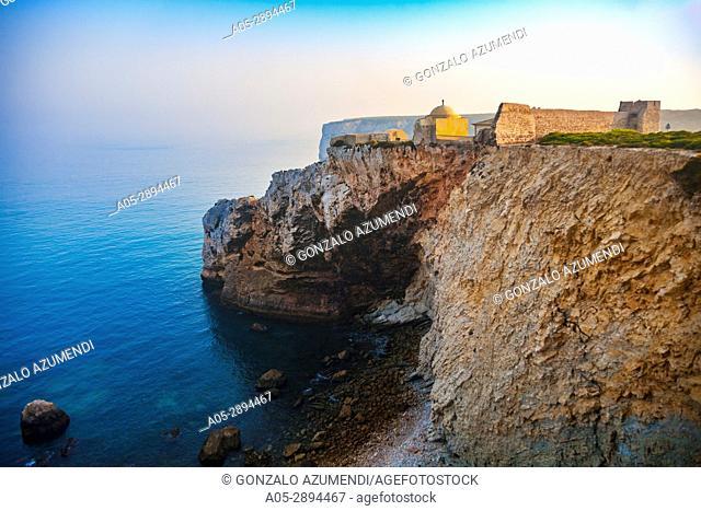 Sagres fortress. Vila do Bispo council. Vicentine Coast. Faro district. Algarve. Portugal