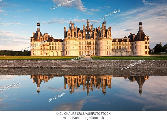 Chambord's castle, Loire valley, France