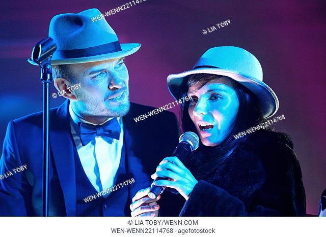Matt Goss performs at the 'Hold Amy's Hand' fundraiser at the Dorchester Featuring: Matt Goss, Amy Watts Where: London, United Kingdom When: 26 Jan 2015 Credit:...