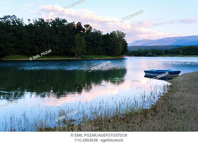 Peruca lake in Croatia
