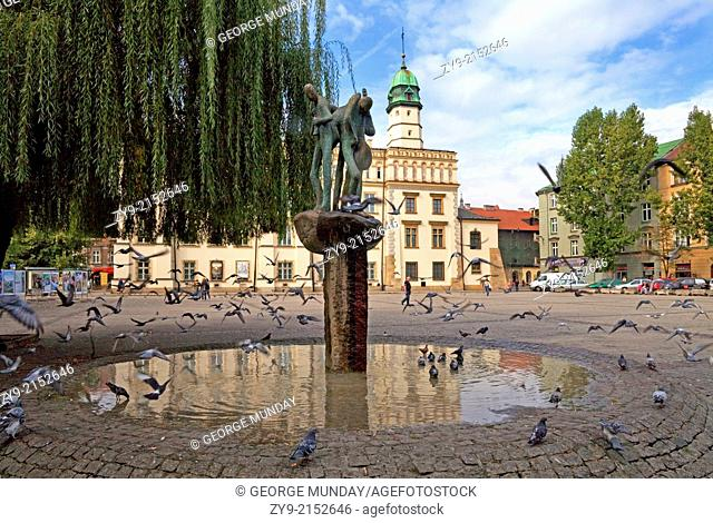The Renaissance Town Hall and Central Square,