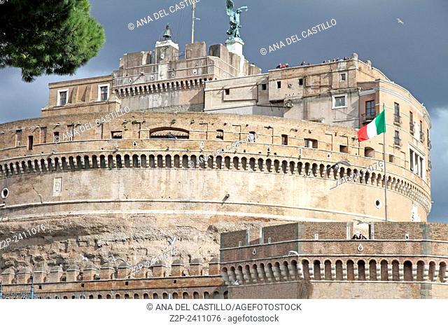 Saint Angel castle Rome, Italy