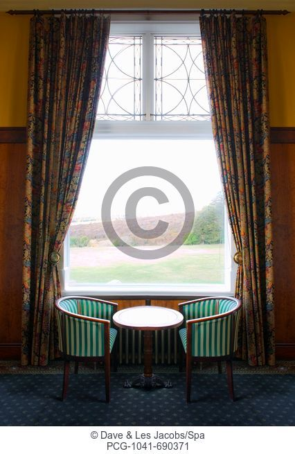 Window with Table and Chairs