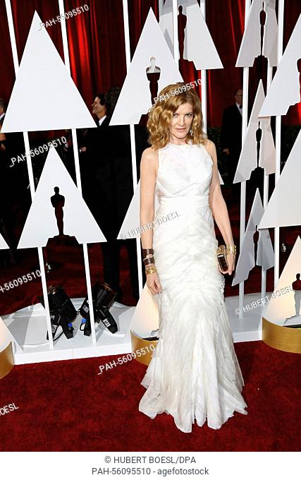 Actress Rene Russo attends the 87th Academy Awards, Oscars, at Dolby Theatre in Los Angeles, USA, on 22 February 2015. Photo: Hubert Boesl/dpa - NOWIRESERVICE...