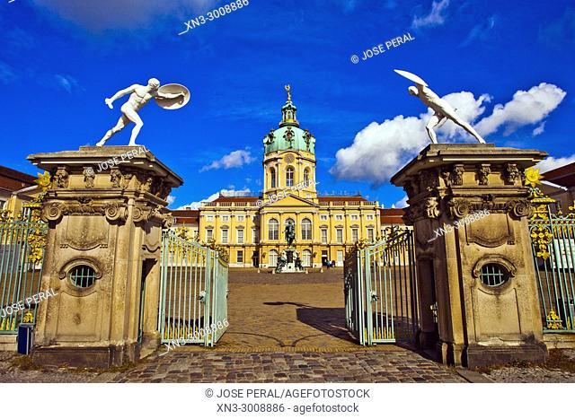 Charlottenburg Palace or Schloss Charlottenburg, Charlottenburg district, Berlin, Germany, Europe
