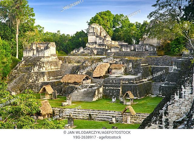 Ancient Maya Ruins, Tikal National Park, Guatemala, UNESCO