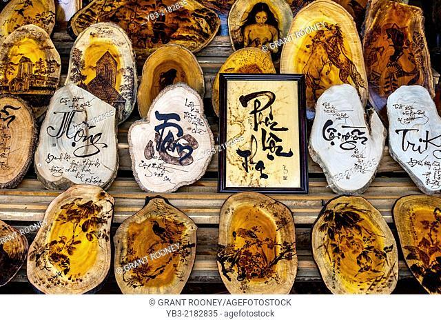 Souvenirs For Sale, Sa Pa Market, Lao Cai Province, Vietnam