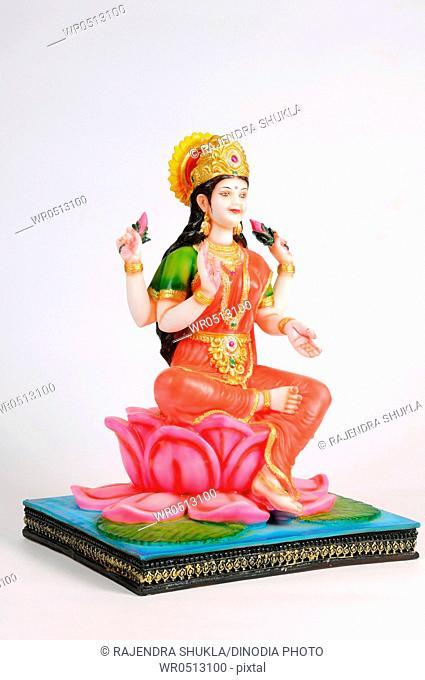 Statue of goddess laxmi , India