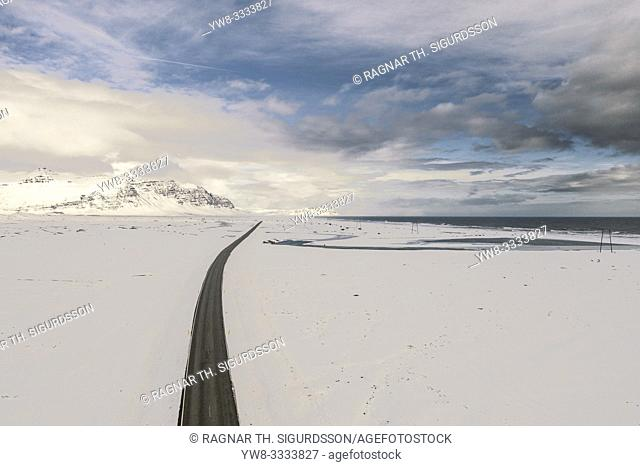 Ring Road or Route One, Vatnajokull National Park, Iceland