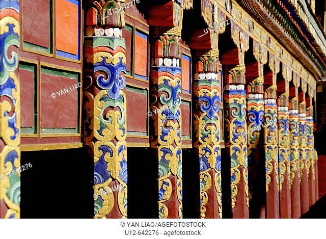 Dege. Sichuan. China