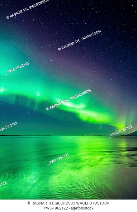 Aurora Borealis or Northern Lights, Iceland