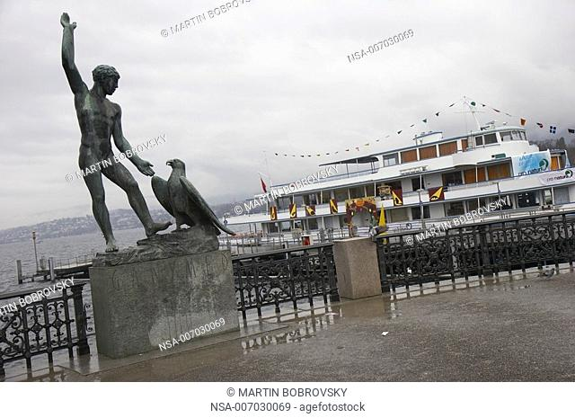 Ganymed statue in Zurich