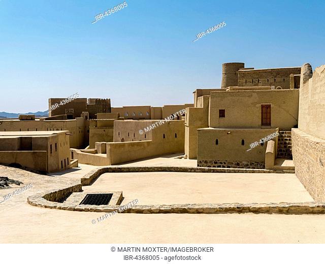 Bahla Fort, UNESCO World Heritage Site, Al Hajar al Gharbi Mountains, Ad Dakhiliyah, Oman