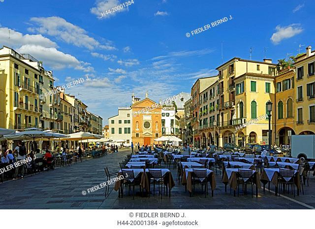 Padua, Padova, Piazza dei Signori, Chiesa di San Clemente