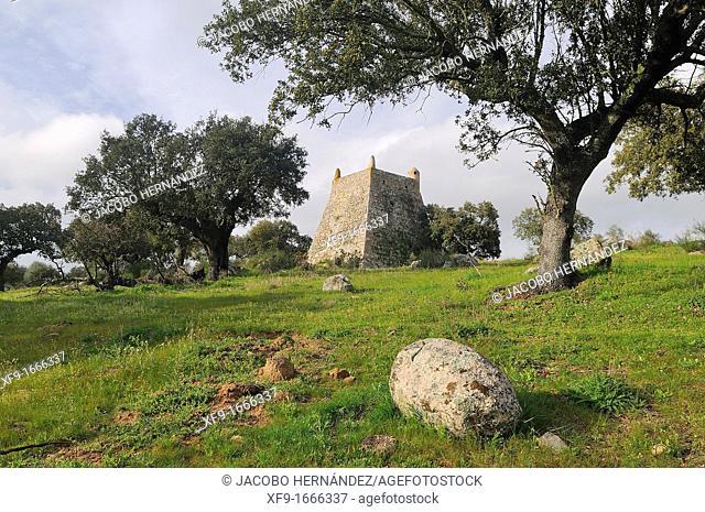 Muslim medieval watchtower Arronches Alentejo Portugal