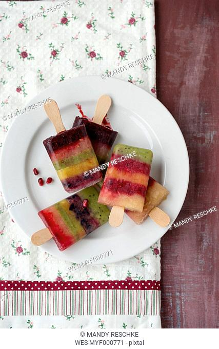 Homemade paletas