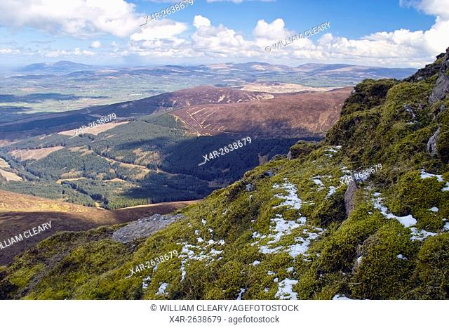 A view from Knockmealdown summit, County Waterford, Ireland